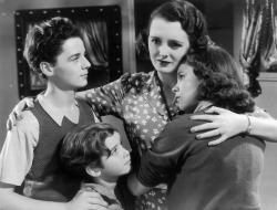 Freddie Bartholomew, Scotty Beckett, Mary Astor and Judy Garland in Listen, Darling.