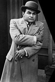 Edward G. Robinson in Little Caesar.