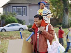 Marlon and Shawn Wayans in Little Man.