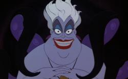 Ursula the sea witch in The Little Mermaid.