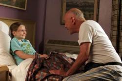 Abigail Breslin and Alan Arkin in Little Miss Sunshine.