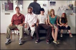 Greg Kinnear, Steve Carrell, Paul Dano, Toni Collette and Abigail Breslin in Little Miss Sunshine.
