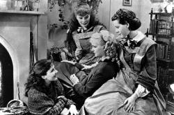 Jean Parker, Katharine Hepburn, Joan Bennett, and Frances Dee in Little Women.