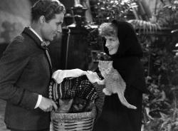 Douglass Montgomery and Katharine Hepburn in Little Women
