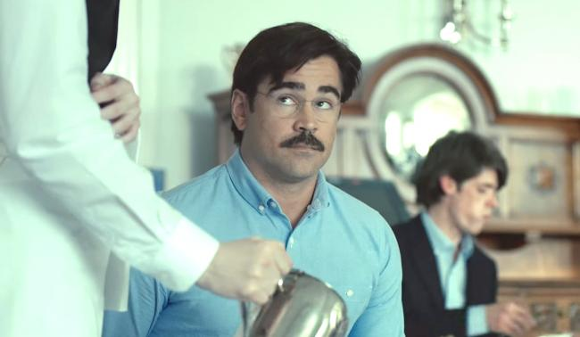 Colin Farrell in The Lobster.