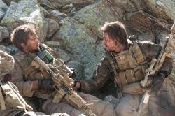 Taylor Kitsch and Mark Wahlberg in Lone Survivor.