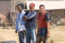 Chris Rock, Burt Reynolds and Adam Sandler in The Longest Yard.