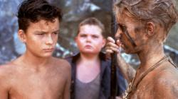 Ralph, Piggy and Jack in Lord of the Flies.