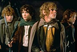Lord of the Rings: The Fellowship of the Ring.