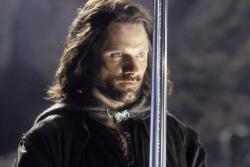 Viggo Mortensen in Lord of the Rings: The Return of the King.