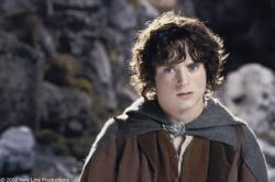 Elijah Wood in Lord of the Rings: The Two Towers.
