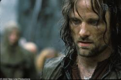 Viggo Mortensen in Lord of the Rings: The Two Towers.
