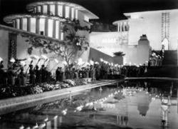 Shangri-La looks like a cross between Mt. Olympus and Beverly Hills!