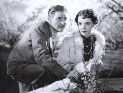 Ronald Colman and Jane Wyatt in Lost Horizon.