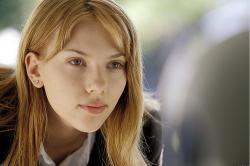 Scarlett Johansson in Lost in Translation.