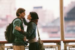 Ashton Kutcher and Amanda Peet in A Lot Like Love.