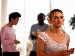 Keira Knightley in Love Actually.