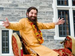 Mike Myers in Love Guru.