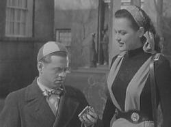 Mickey Rooney and Dorothy Ford in Love Laughs at Andy Hardy