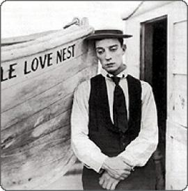 Buster Keaton in The Love Nest.