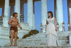 Mickey Hargitay and Jayne Mansfield in The Loves of Hercules