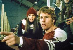Ali MacGraw and Ryan O'Neal in Love Story