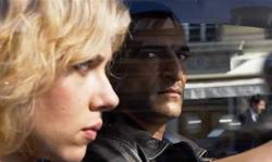 Scarlett Johansson and Amr Waked in Lucy