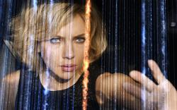 Scarlett Johansson in Lucy.
