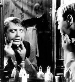 Peter Lorre as psychopath Hans Beckert.