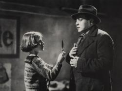 Inge Landout and Peter Lorre in M