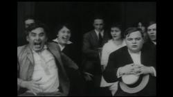 Mack Sennett and Roscoe (Fatty) Arbuckle in Mabel's Dramatic Career