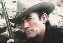 Gregory Peck in Mackenna's Gold.