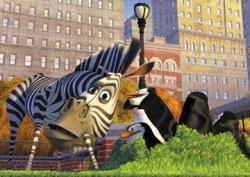 Chris Rock voices Marty the Zebra in Madagascar.