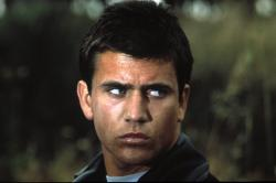 Mel Gibson as Mad Max.