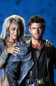 Tina Turner and Mel Gibson in Mad Max Beyond Thunderdome