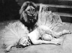 Gloria Swanson in Male and Female.