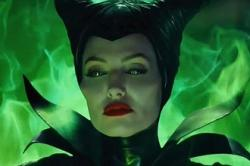 Angelina Jolie is Maleficent.