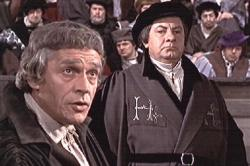 Paul Scofield and Leo McKern in A Man for All Seasons.