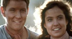 Tom Burlinson and Sigrid Thornton in The Man from Snowy River