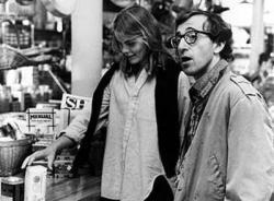 Mariel Hemingway and Woody Allen in Manhattan.