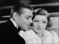 Clark Gable and Myrna Loy.