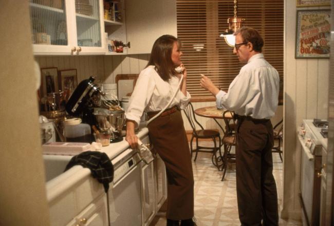 Diane Keaton and Woody Allen in Manhattan Murder Mystery.