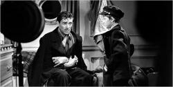 Walter Pidgeon and Roddy McDowall in Man Hunt