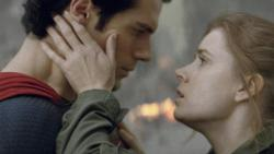 Henry Cavill and Amy Adams in Man of Steel.