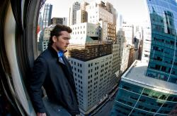 Sam Worthington is a man on a (you'll never guess) ledge in Man on a Ledge.