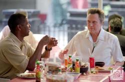 Denzel Washington and Christopher Walken in Man on Fire