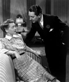 Bette Davis and Reginald Gardiner.