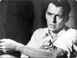 Frank Sinatra in The Man with the Golden Arm.