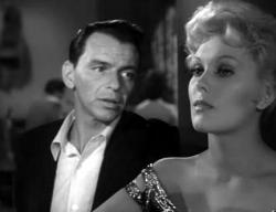 Frank Sinatra and Kim Novak in The Man with the Golden Arm.