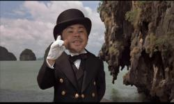 Herve Villechaize as Nick Nack in The Man with the Golden Gun.